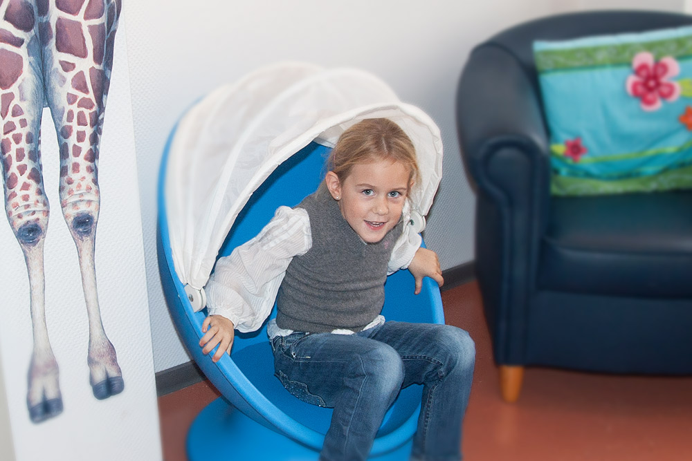 Kind beim Zahnarzt Hannover Mitte